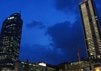 Kelompok Djarum menyulap kawasan eks Hotel Indonesia menjadi Hotel Kempensky, Grand Indonesia, Menara BCA dan Apartement./Bloomberg - Dimas Ardian