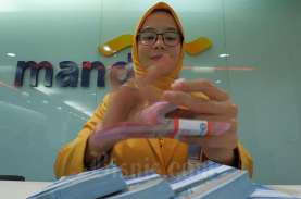 Persiapan Uang Tunai Bank Mandiri Region Sumatra I…