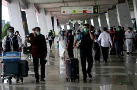 Ada Larangan Mudik, Pelayanan di Bandara Soekarno…