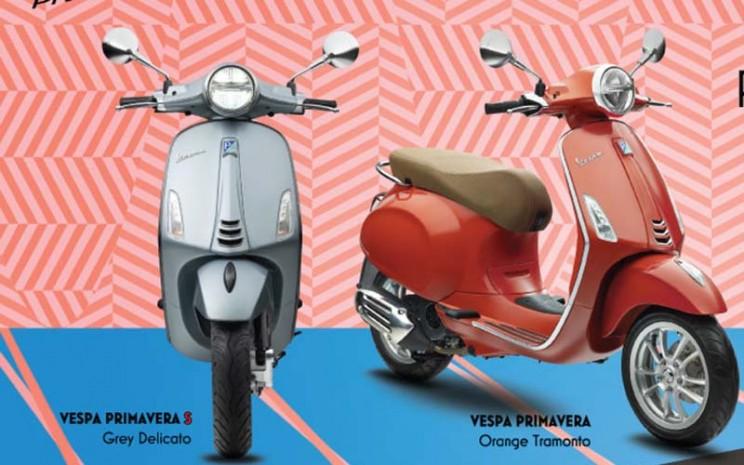 Pilihan warna baru Vespa Primavera.  - PT Piaggio Indonesia