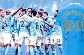 ManCity Juara Liga Inggris Ketujuh Kali Setelah MU Disikat Leicester