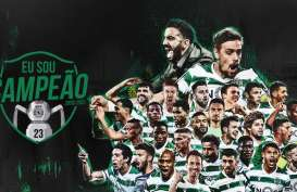 Sporting Lisbon Juara Pertama Kali Liga Portugal Setelah Era Ronaldo