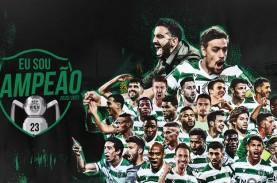 Sporting Lisbon Juara Pertama Kali Liga Portugal Setelah…