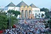 Zona Kuning Covid-19, Salat Id di Masjid Agung Palembang Dibatasi 1.000 Orang