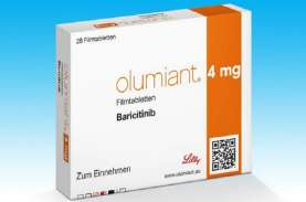 Baricitinib Jadi Obat Covid-19 Ketiga yang Penggunaannya…