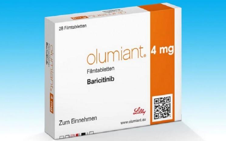 Baricitinib membantu menekan inflamasi yang diakibatkan dari gangguan imunitas. Obat ini sudah digunakan untuk mengobati artritis reumatoid dan dermatitis atopik. - Istimewa