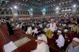 Imam Besar Minta Maaf Akibat Salat Idulfitri di Masjid…
