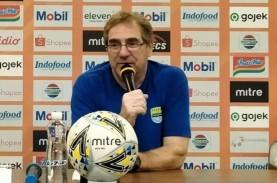 Pelatih Persib Tidak Setuju Liga 1 Dijalankan Tanpa…