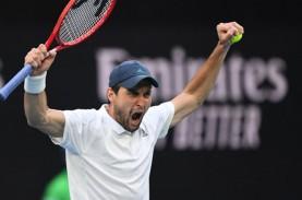 Karatsev Hentikan Teman Sendiri Medvedev di Tenis…