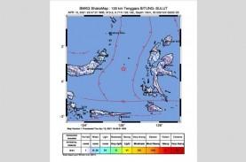 Gempa Bumi Goyang Sulawesi Utara