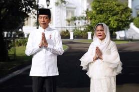 Tak Mudik Lebaran, Jokowi: Semoga Wabah Covid-19 Segera…