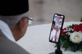 Silaturahmi Virtual dengan Wapres, Jokowi Curhat Tak…