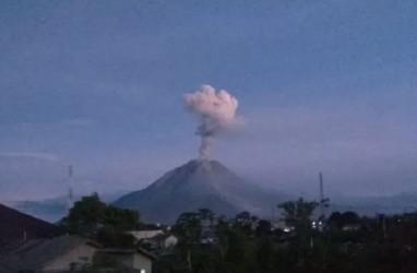 Hari Ini, Gunung Sinabung 3 Kali Semburkan Abu Vulkanik Setinggi 1.000 Meter
