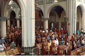 Gereja Katedral Batasi Umat pada Misa Kenaikan Yesus…