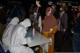 Arus Balik Lebaran, Pemudik Asal Sumatra Wajib Rapid…