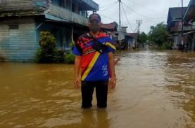 Idulfitri, Rumah Warga di Perbatasan RI-Malaysia Terendam…
