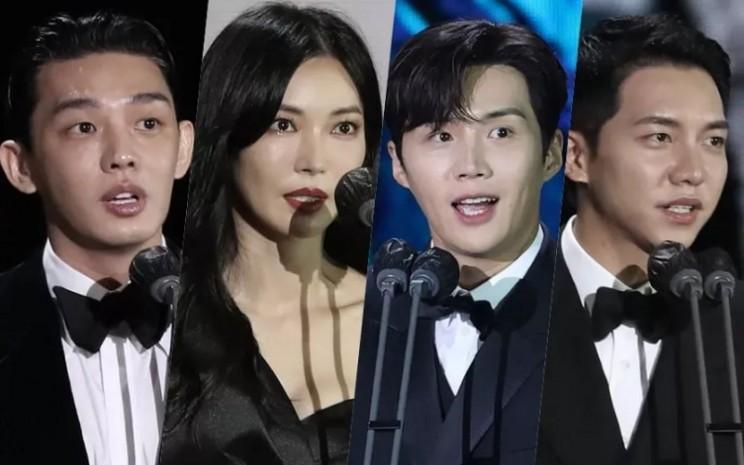 Aktor dan akris Korea Selatan yang menjadi pemenang Baeksang Arts Awards 2021  -  Soompi.com