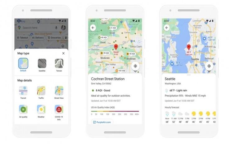 Pembaruan Google Maps - istimewa
