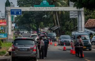 Banten Intensifkan Penyekatan Antisipasi Lonjakan Wisatawan