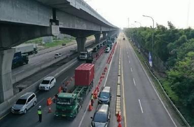 123.775 Kendaraan Tinggalkan Jabotabek Lewat Jalan Tol Saat Idulfitri