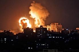 Gedung Kantor Media Internasional di Gaza Runtuh Kena…
