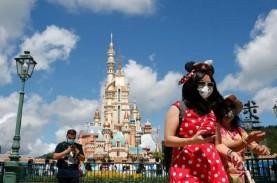Disney World dan Taman Hiburan AS Bolehkan Turis Lepas…