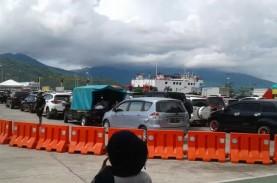Penumpang Kapal Fery Ternate-Tidore Meningkat