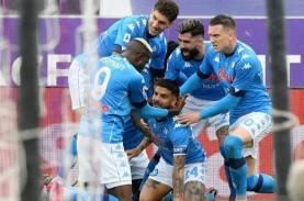 Hasil Liga Italia, Napoli Gusur Juventus dari Zona…