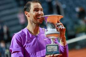 Tundukkan Novak Djokovic, Rafael Nadal Juara Italia…