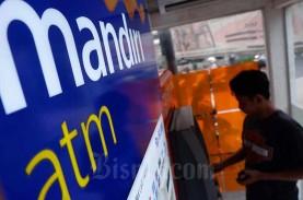 Nasabah Bank Mandiri (BMRI) Tarik Uang Tunai Rp22,2…