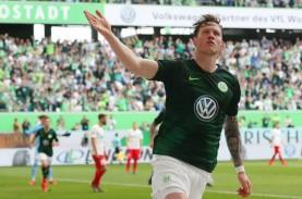 Imbang vs Leipzig, Wolfsburg Bertarung Lagi di Liga…