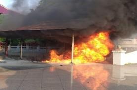 Kebakaran di Klenteng Bersejarah Sam Poo Kong, Begini…