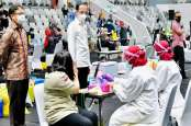 Pantau Vaksinasi Massal, Jokowi akan Sambangi Pekanbaru