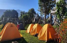 Bisnis Camping Ground Mulai Semarak di Kaki Gunung Rinjani