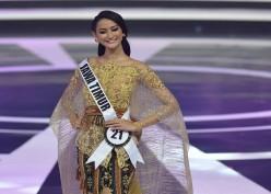 Foto-foto Detail Baju Ayu Maulida Saat Tampil Hingga 21 Besar Miss Universe