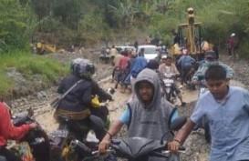 Akses Padang-Solok Selatan Lancar Kembali, Sempat Tertutup Longsor