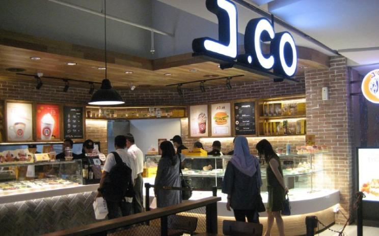 J.Co Donuts and Coffee. Gerai J.Co adalah gabungan dari berbagai konsep yang dipelajarinya dari berbagai belahan dunia.  - JIBI/SOLOPOS