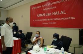 Vaksinasi Gotong Royong : TMMIN Suntik Ribuan Karyawan dan Keluarga