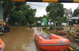Bekasi Waspada Banjir, 1.500 KK Antisipasi Luapan Kali Sadang