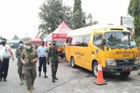 Beroperasi 24 Jam, 6 Bus di Terminal Kalideres Angkut…