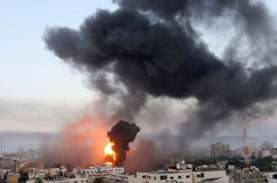 Israel Serang Gaza Senin Malam, Tak Ada Laporan Warga…