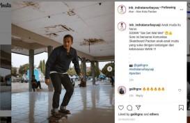 Keponakan SBY, Bupati Pacitan Main Skateboard, Ajak Anak Muda Sat Set Wat Wet
