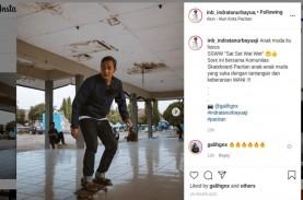 Keponakan SBY, Bupati Pacitan Main Skateboard, Ajak…
