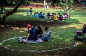 Wisata Lebaran, Masyarakat Tidak Patuhi Prokes. Jakarta…