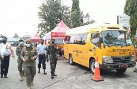 46 Pemudik Positif Covid-19 Terjaring di Terminal Pulo Gebang dan Kalideres