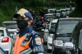Korlantas Polri: Pemudik ke Jawa Turun 74 Persen,…