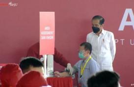 Jokowi Datang, Semua Pejabat Riau Dites Swab