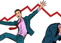 Ilustrasi market bullish./Bisnis.com
