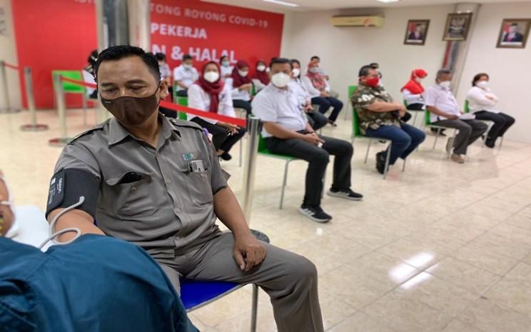 PT Pan Brothers Tbk. (PBRX) berpartisipasi dalam vaksinasi Gotong Royong pada Selasa 18 Mei dan Rabu 19 Mei 2021 di Tangerang -  Istimewa