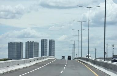 Jalan Layang MBZ Arah Jakarta Ditutup Sementara Pagi Tadi